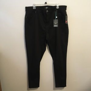 Lularoe Black Lycra Plus Legging Jeans NWT   40